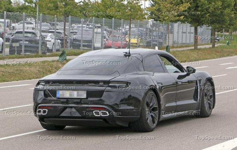 43 New 2020 Porsche Mission E Electric Sedan Spied Testing Alongside Teslas Picture