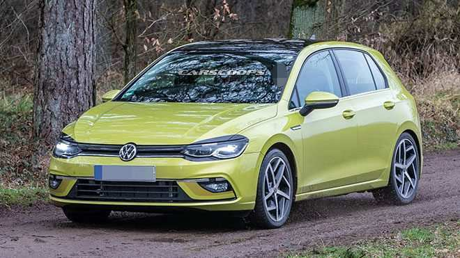 43 New 2020 Volkswagen Golf Mk8 Spy Shoot
