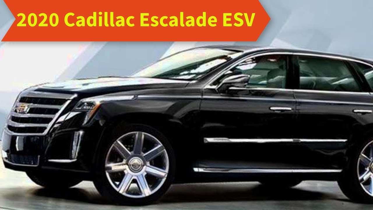43 The Best 2020 Cadillac Escalade Reveal Review And Release Date