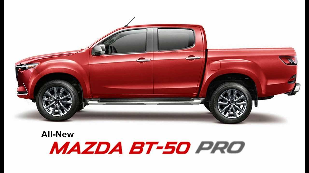 44 A All New Mazda Bt 50 2020 Images