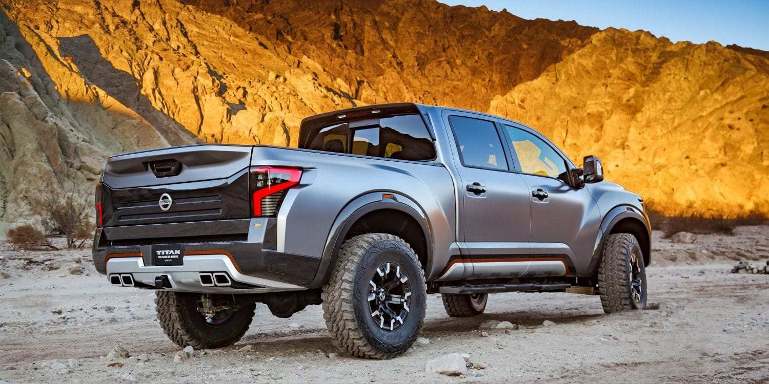 44 All New Nissan Titan Warrior 2020 Performance And New Engine