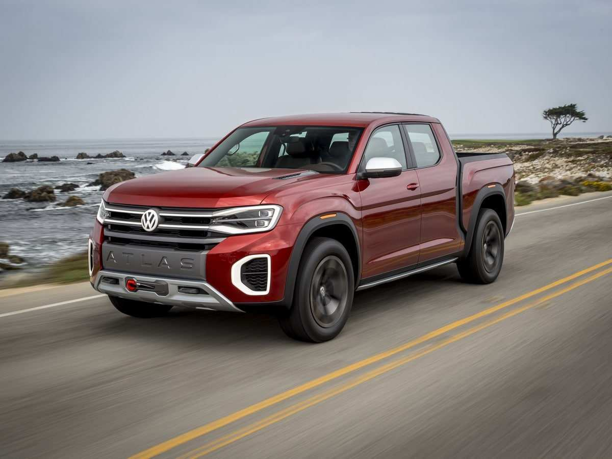 44 Best 2019 Volkswagen Pickup Truck Exterior And Interior