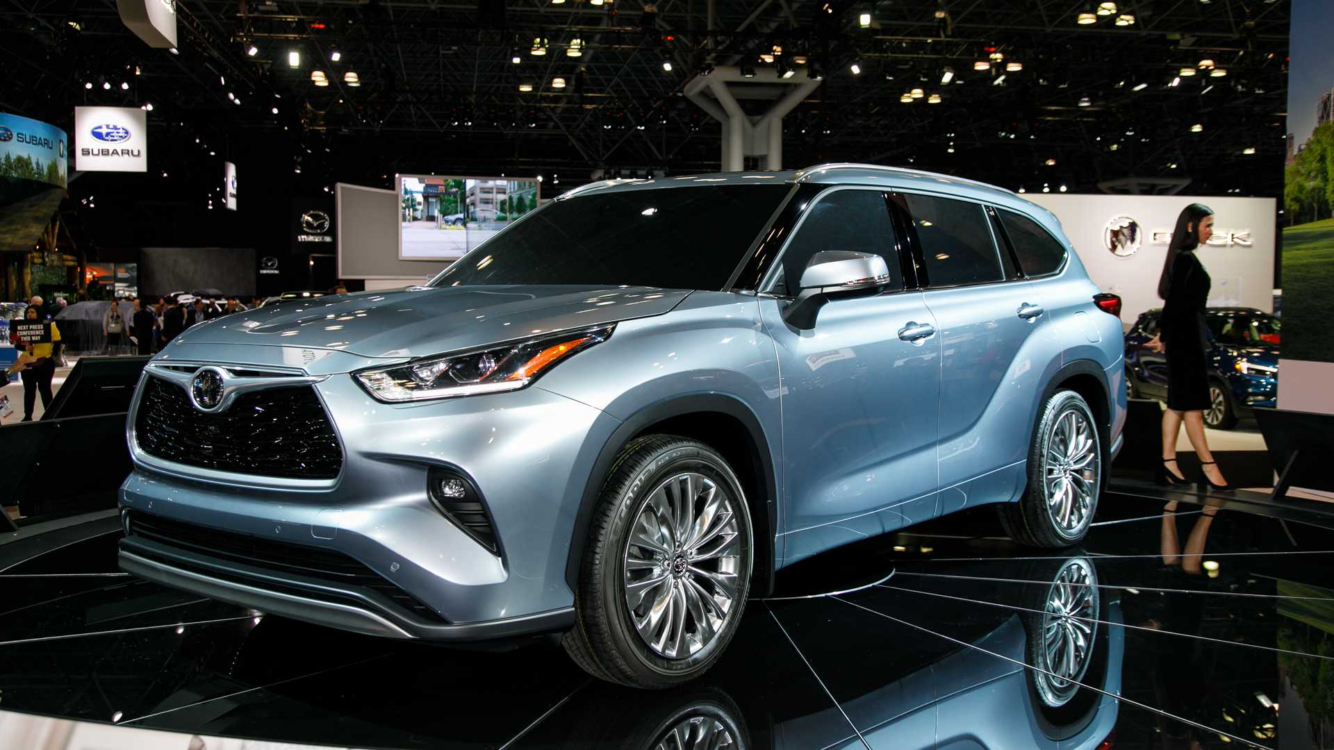 45 A Toyota Kluger 2020 Model Redesign And Review