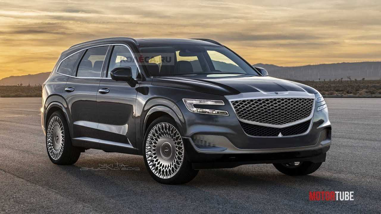 45 Best 2019 Genesis Suv Release Date And Concept