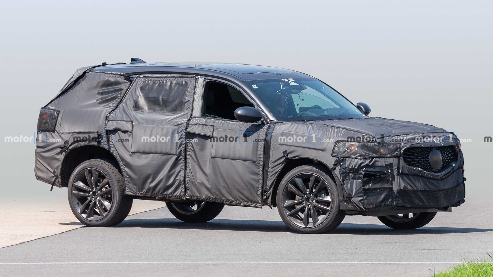 45 The 2020 Acura Mdx Spy Photos Redesign And Concept