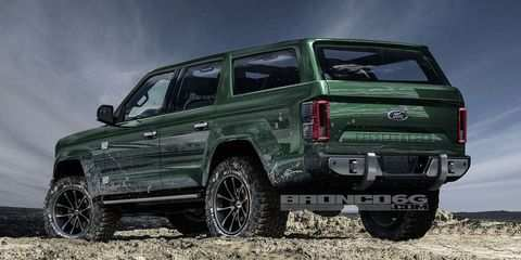 45 The Best 2020 Ford Bronco Design Overview