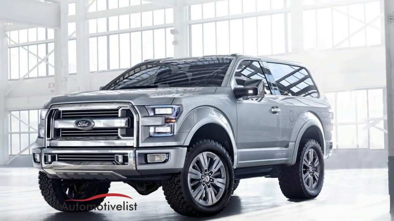 45 The Best 2020 Ford Bronco Msrp Spy Shoot