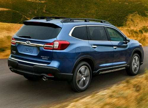 45 The Subaru Ascent 2020 Images