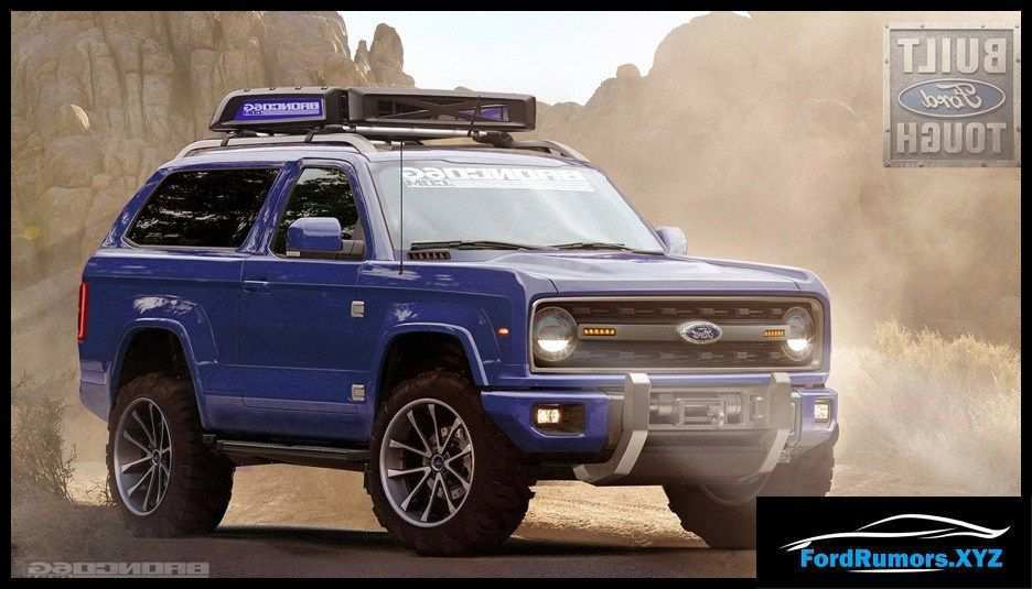 46 All New 2020 Ford Bronco Hp Concept And Review