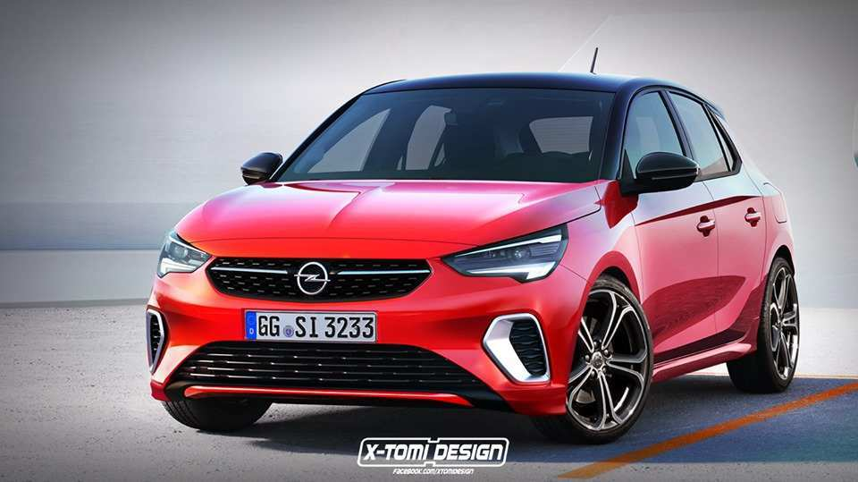 46 All New Opel Corsa 2020 Rendering Wallpaper