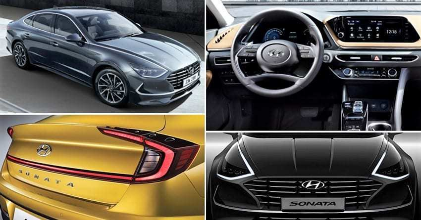 46 New Hyundai Sonata 2020 Price In India Spy Shoot