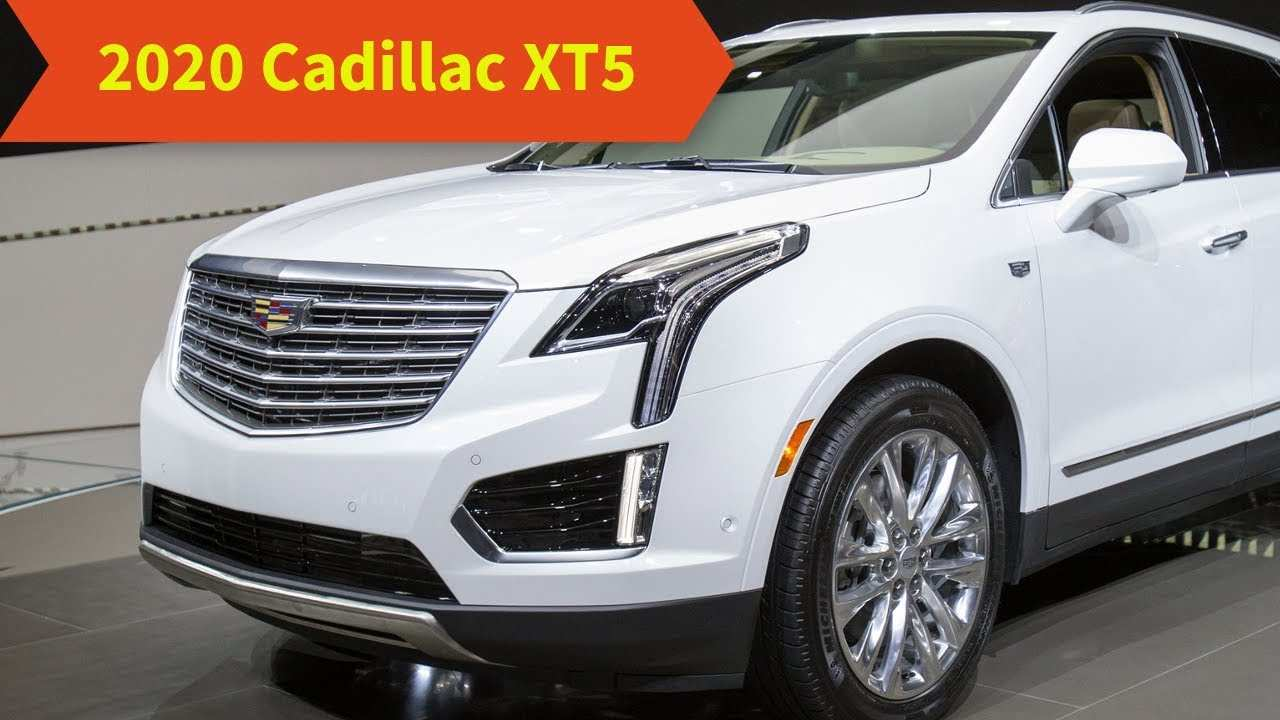 47 New 2020 Cadillac Xt5 Pictures Release Date