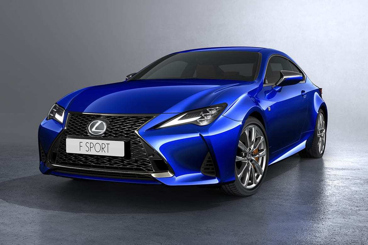 47 The Best 2019 Lexus Rc New Model And Performance