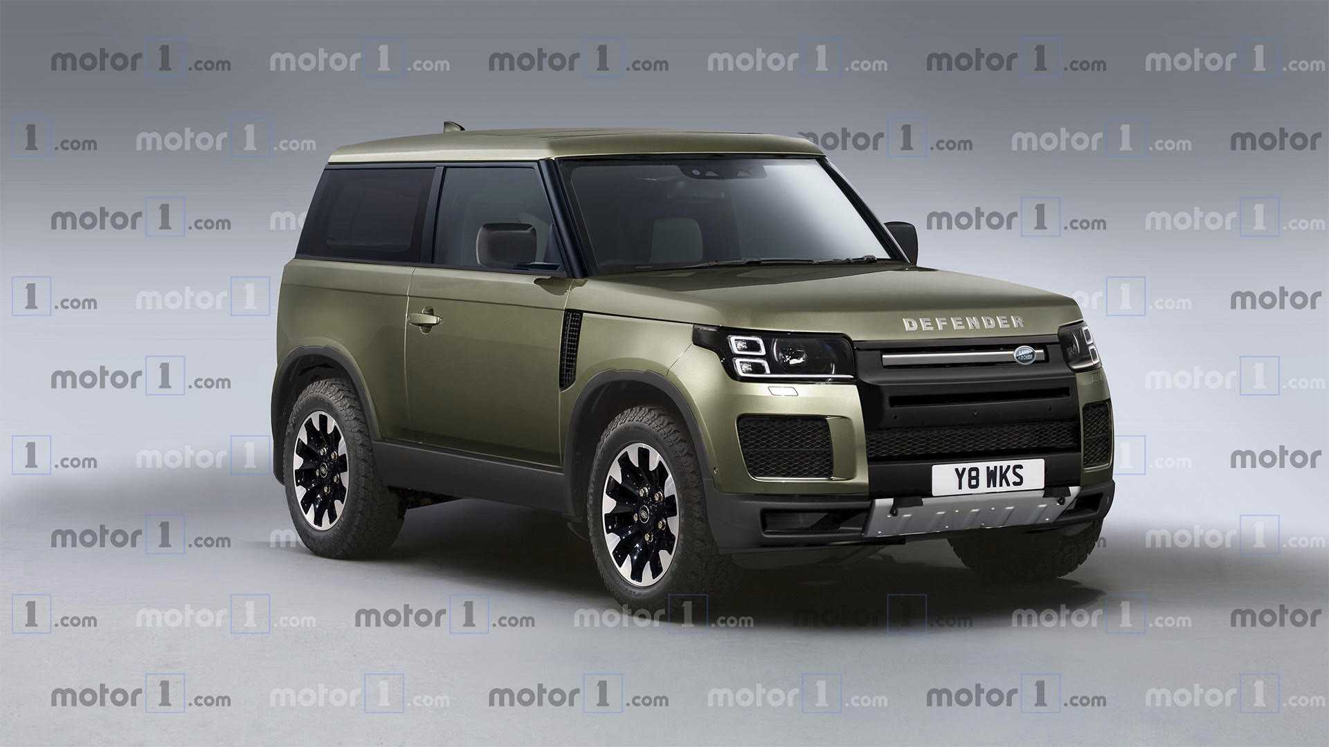 48 All New Jeep Defender 2020 Redesign And Concept