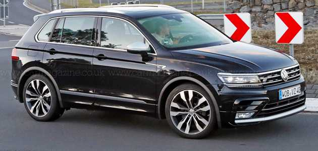 48 All New Volkswagen Suv 2020 Spy Shoot