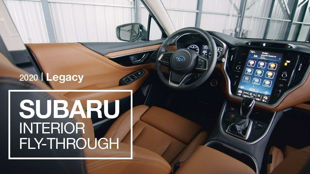 48 New Subaru Legacy 2020 Interior First Drive