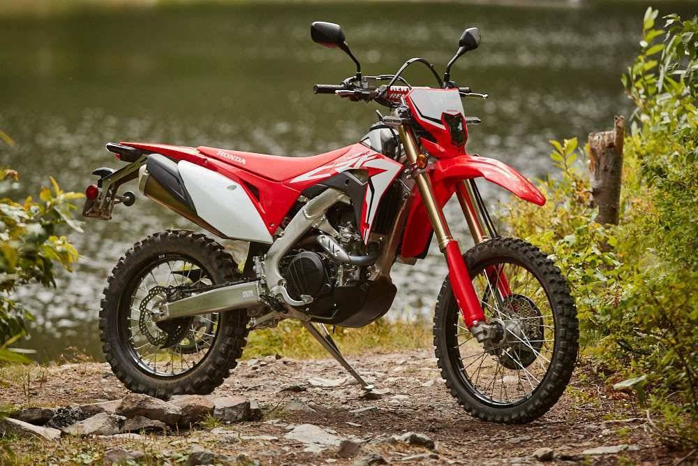 49 A 2019 Honda Crf450L Overview