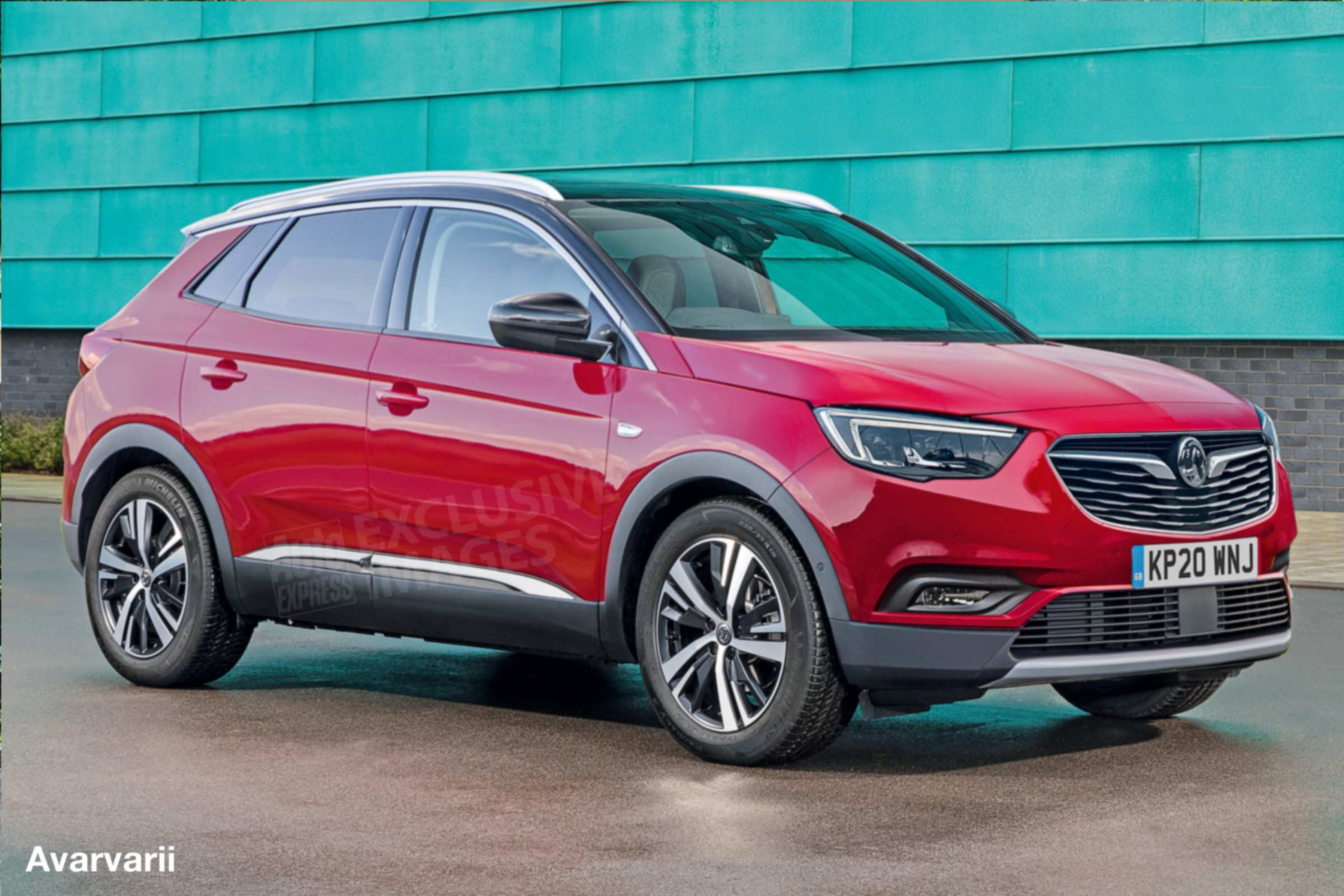 49 A New Opel Mokka X 2020 Release Date And Concept