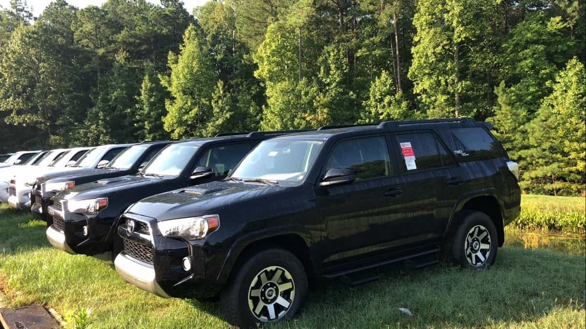 50 A 2019 Toyota 4Runner News Images