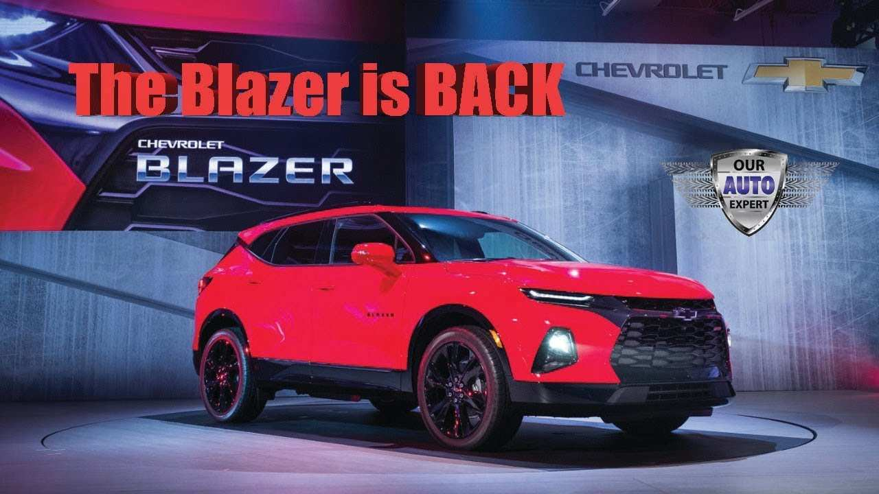 Chevrolet Blazer 2020 Ss With 500Hp | Review Cars 2020