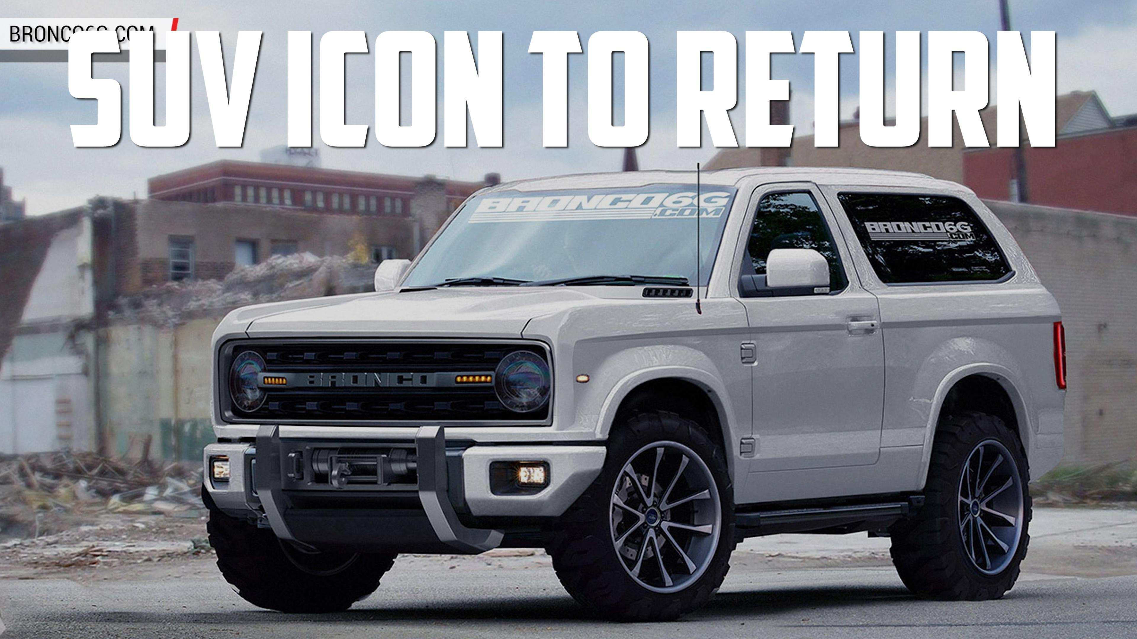 50 A Ford Bronco 2020 Engine Concept And Review