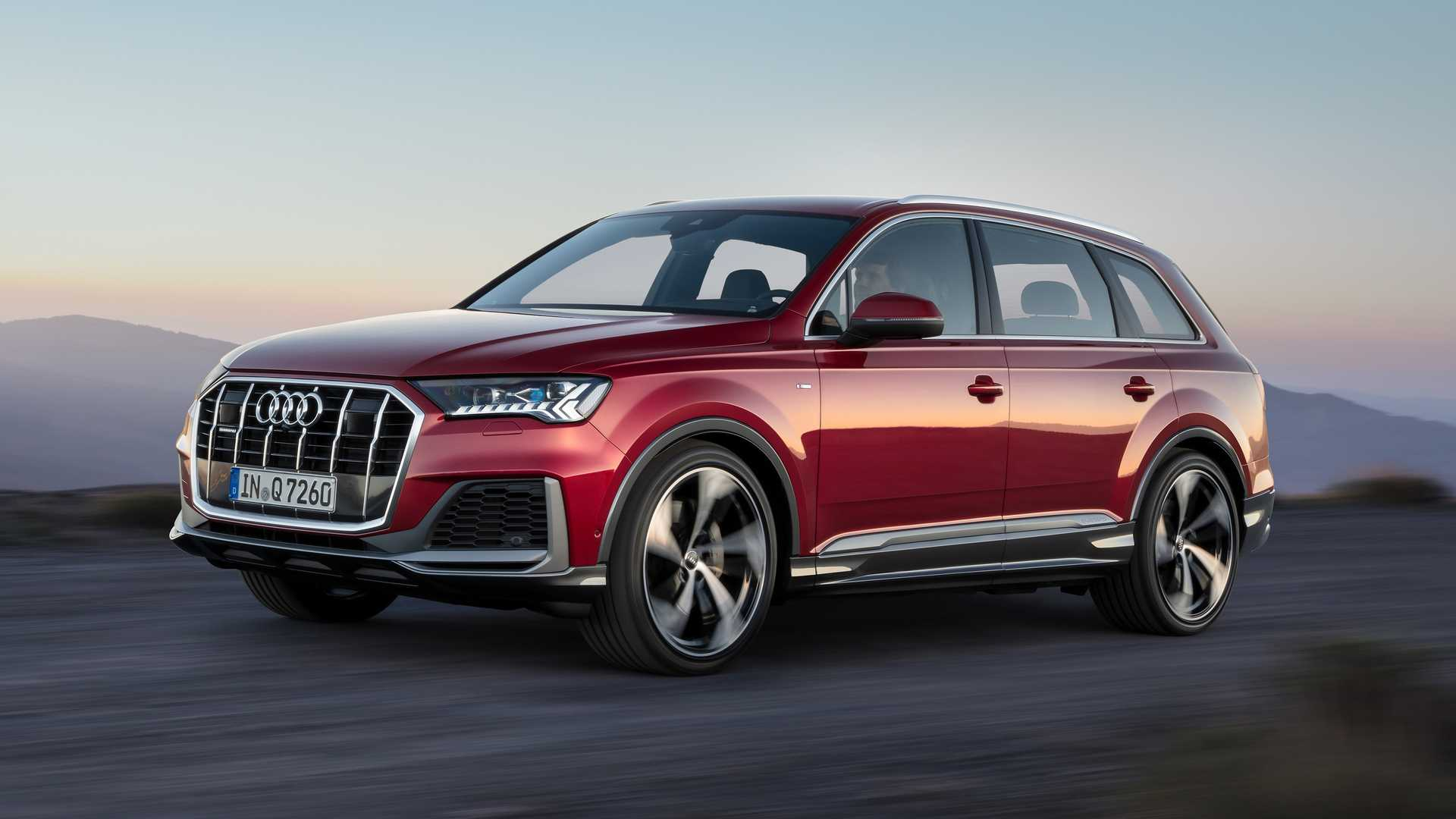 50 All New 2019 Audi Q7 Facelift Concept And Review
