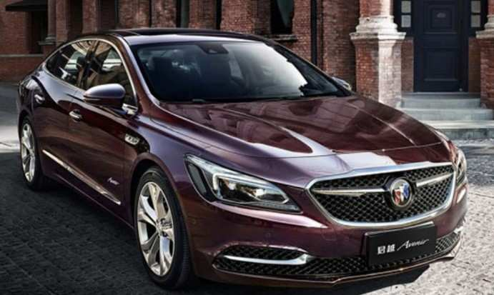 50 The 2020 Buick Lacrosse Refresh Spy Shoot