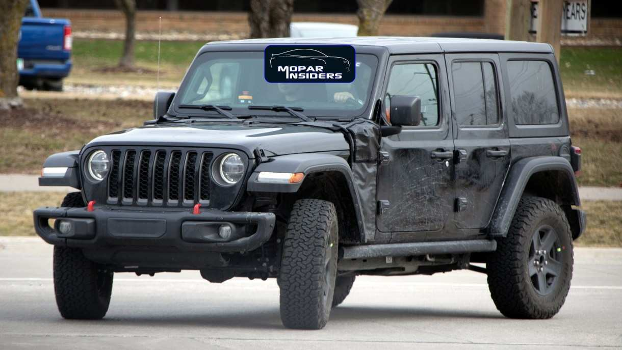 50 The 2020 Jeep Jl Rumors Exterior And Interior