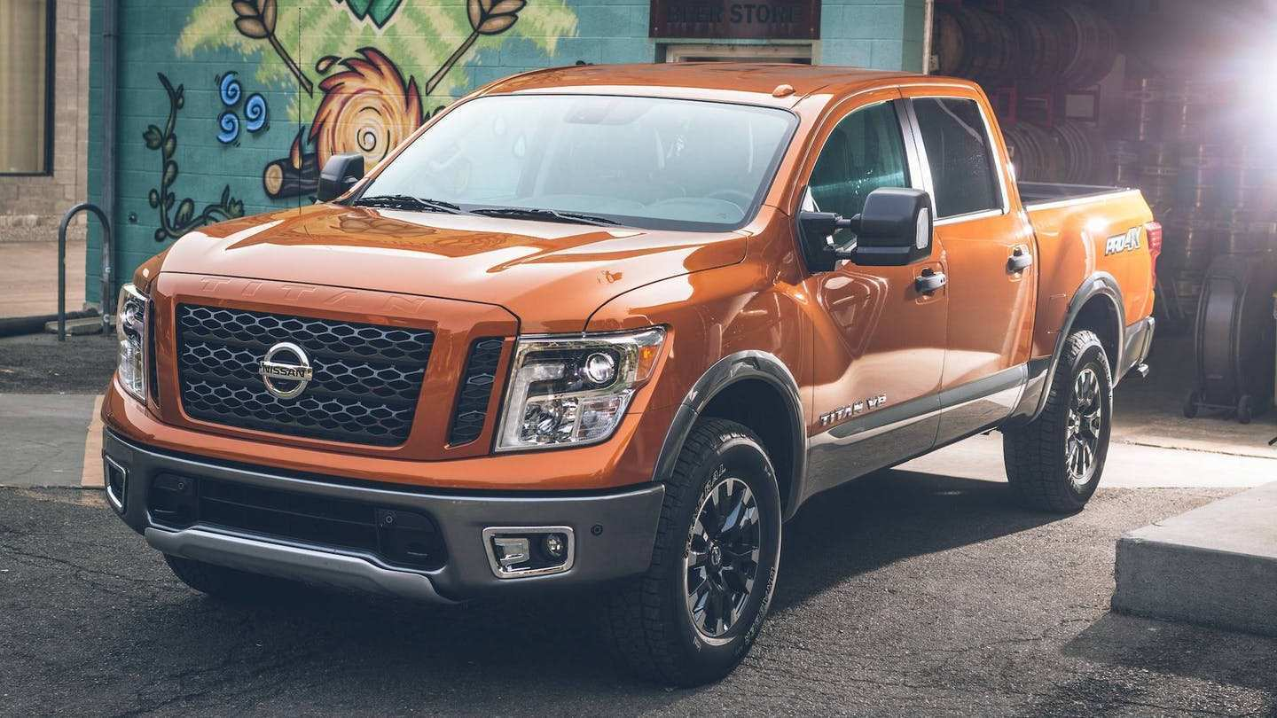 50 The Best 2019 Nissan Titan Nismo Redesign And Review