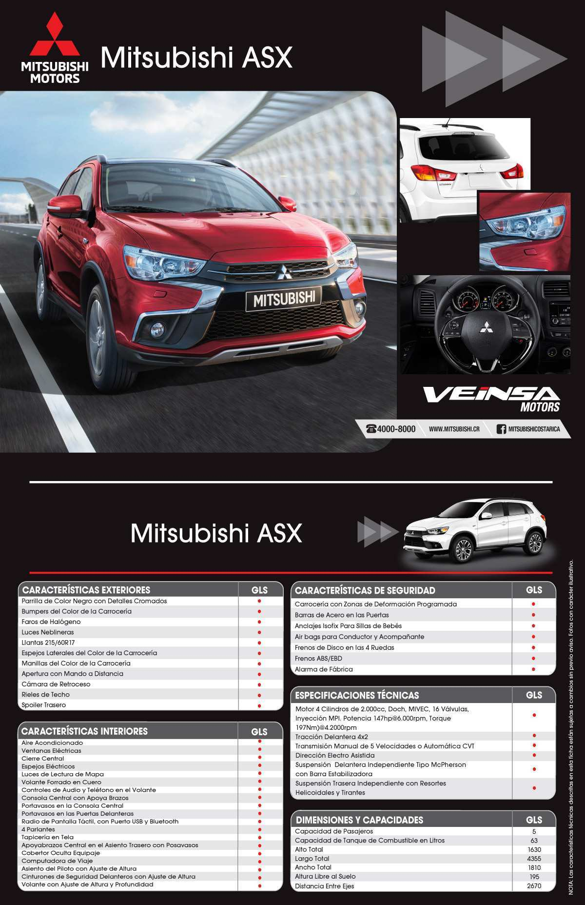50 The Best Mitsubishi Asx 2020 Ficha Tecnica New Model And Performance