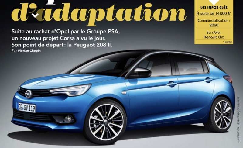50 The Best Opel Corsa 2020 Rendering Images