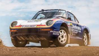51 The Porsche Dakar 2020 Picture