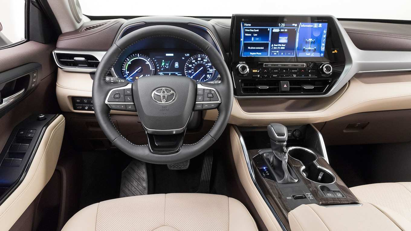 51 The Toyota Kluger 2020 Model Interior
