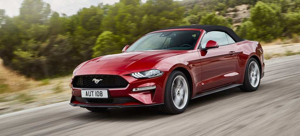 52 A 2019 Ford Convertible Spy Shoot