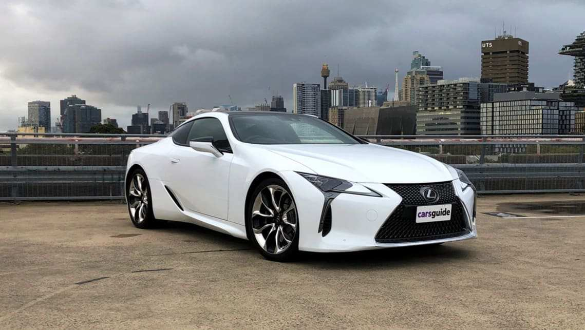 52 A 2019 Lexus Lc F Overview