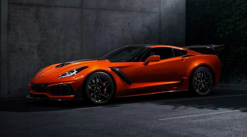 52 All New 2019 Chevrolet Corvette Zr1 Price Performance And New Engine