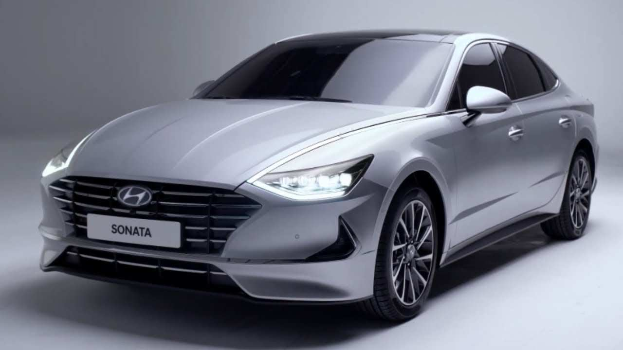 52 The Hyundai Sonata 2020 Release Date Exterior And Interior