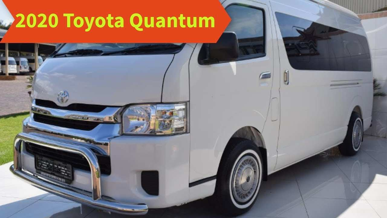 53 New Toyota Quantum Gl 2020 Specs And Review