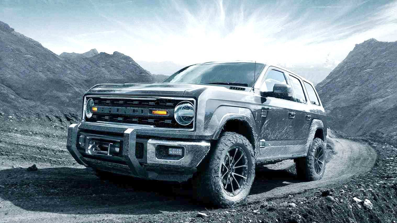53 The 2020 Ford Bronco Wallpaper Redesign And Concept
