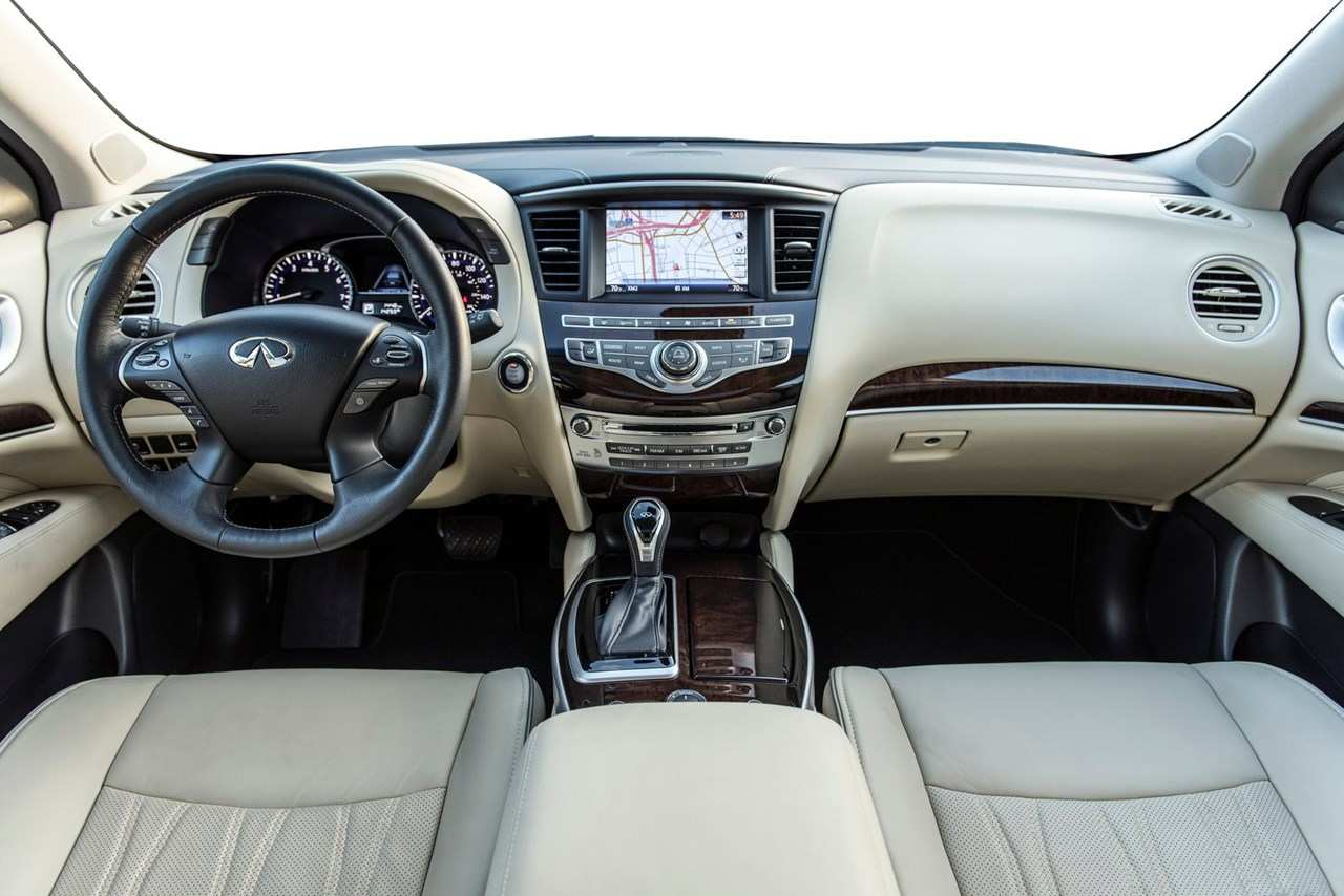 53 The 2020 Infiniti Interior Spy Shoot