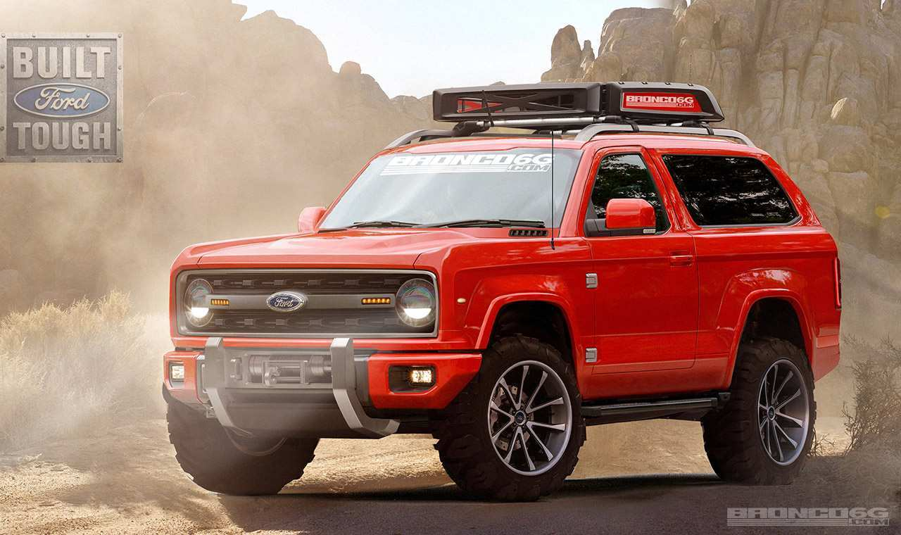 53 The Best 2020 Ford Bronco Design Redesign And Review
