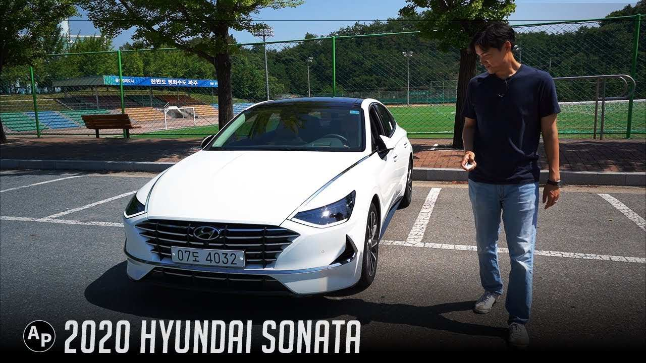 54 A Hyundai Sonata 2020 Concept And Review