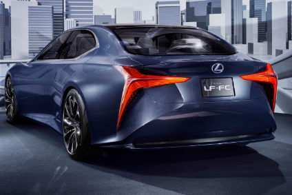 54 A Lexus Electric Car 2020 New Concept