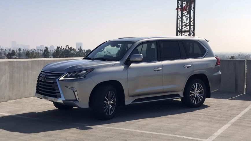 54 New 2019 Lexus Lx First Drive