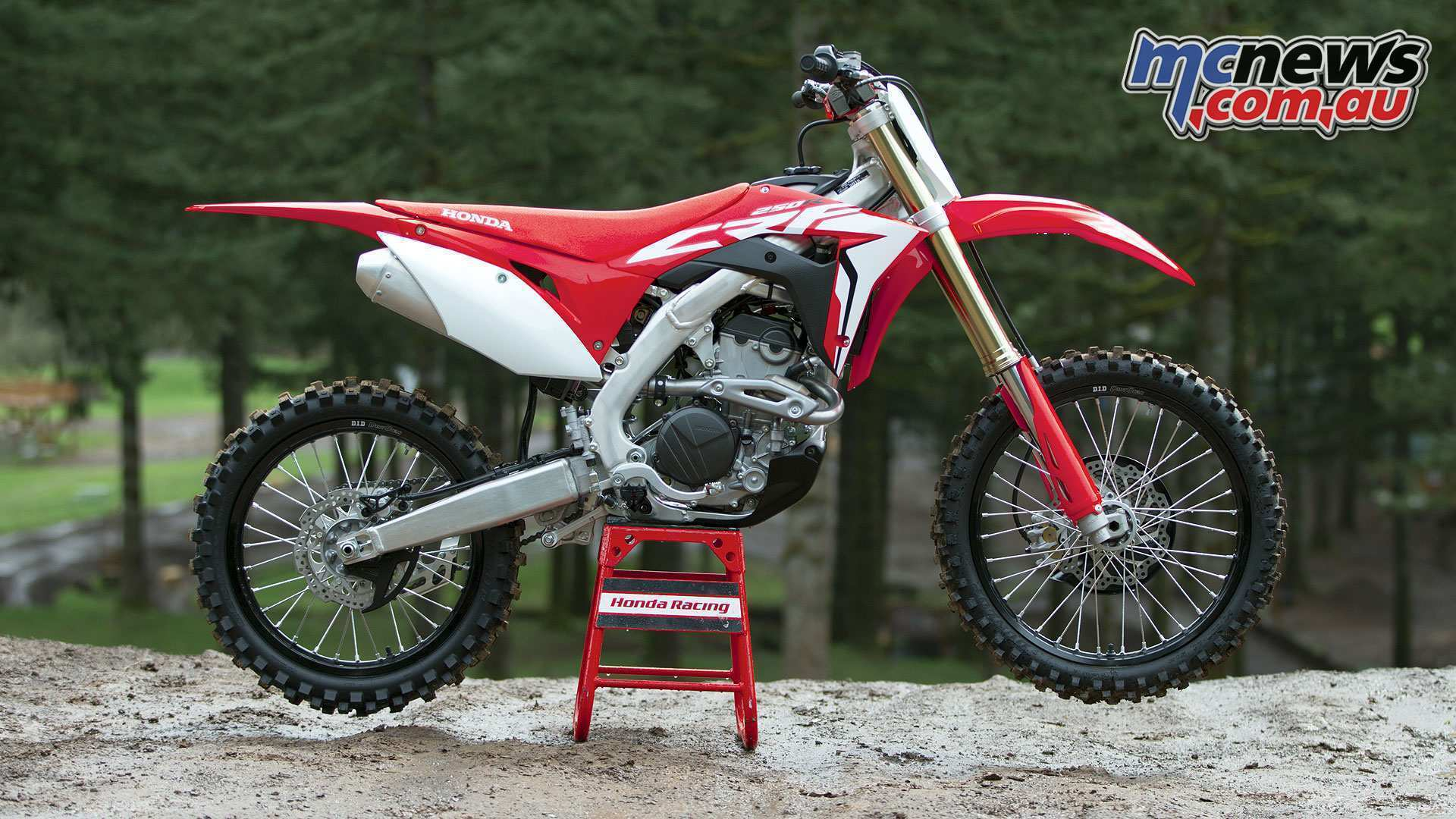 54 The 2019 Honda 250F Ratings