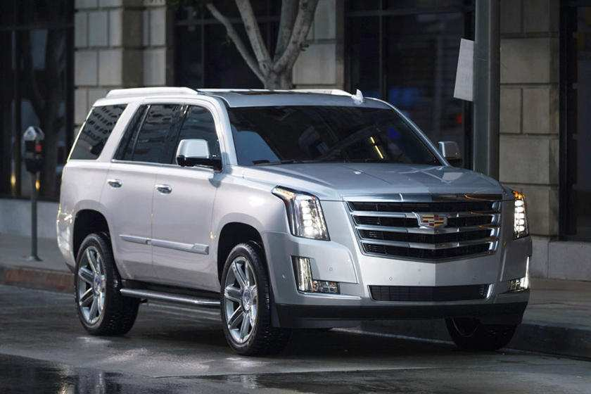 54 The Interior Of 2020 Cadillac Escalade First Drive