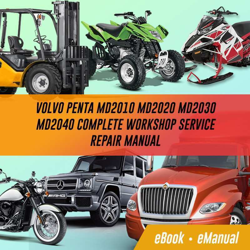 54 The Manual Volvo Md2020 Engine