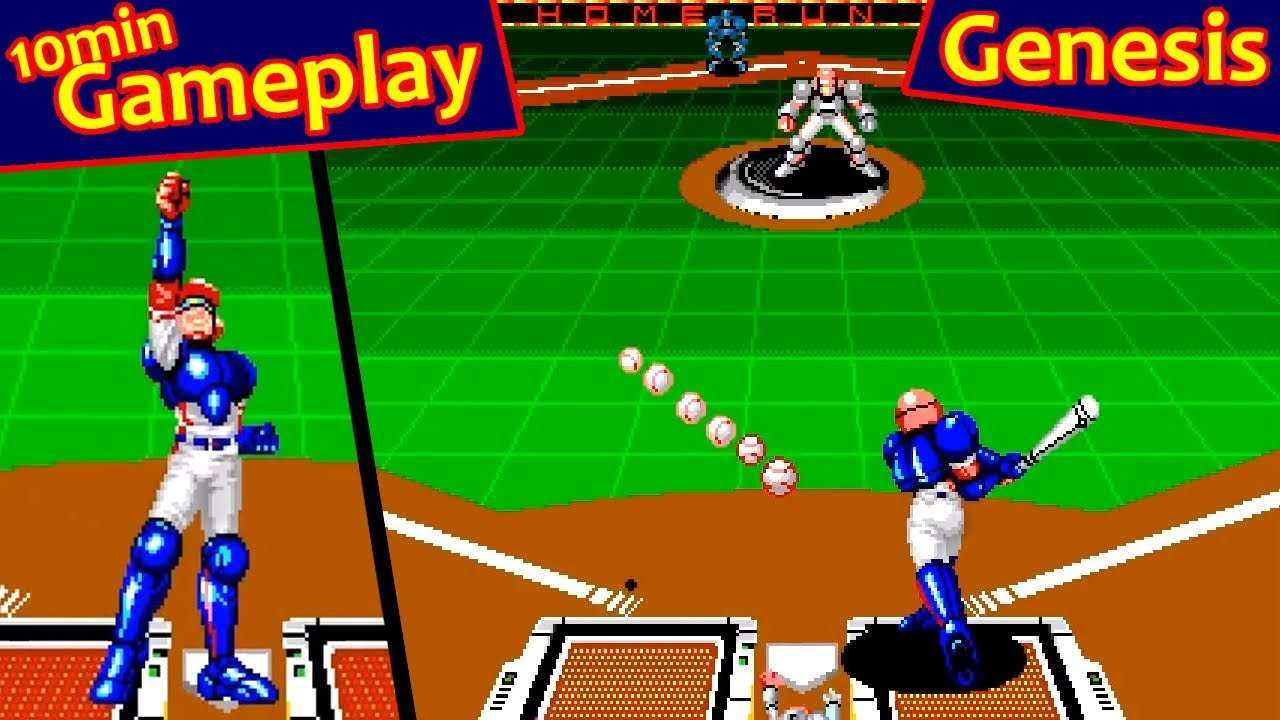 54 The Super Baseball 2020 Sega Genesis Model