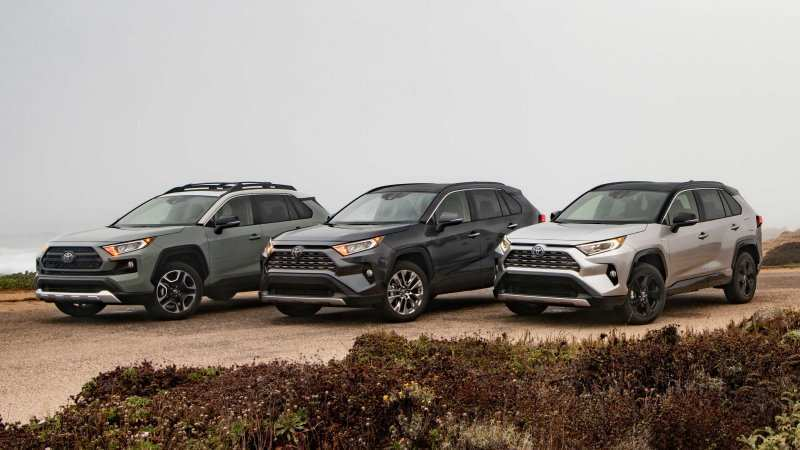 55 A 2019 Toyota Rav4 Hybrid Specs Pictures