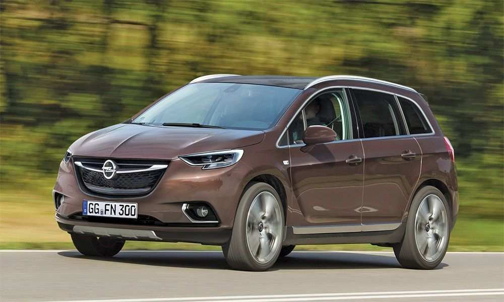55 A Opel Zafira 2020 Ratings